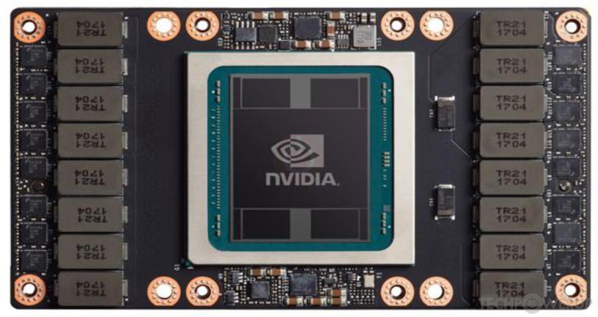 Мощность графических ускорителей Nvidia Tesla V100 для ваших проектов!