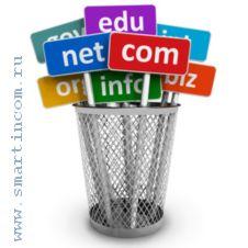 Выбор и регистрация домена для сайта